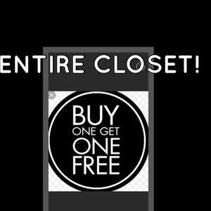 Create a bundle! Entire closet!